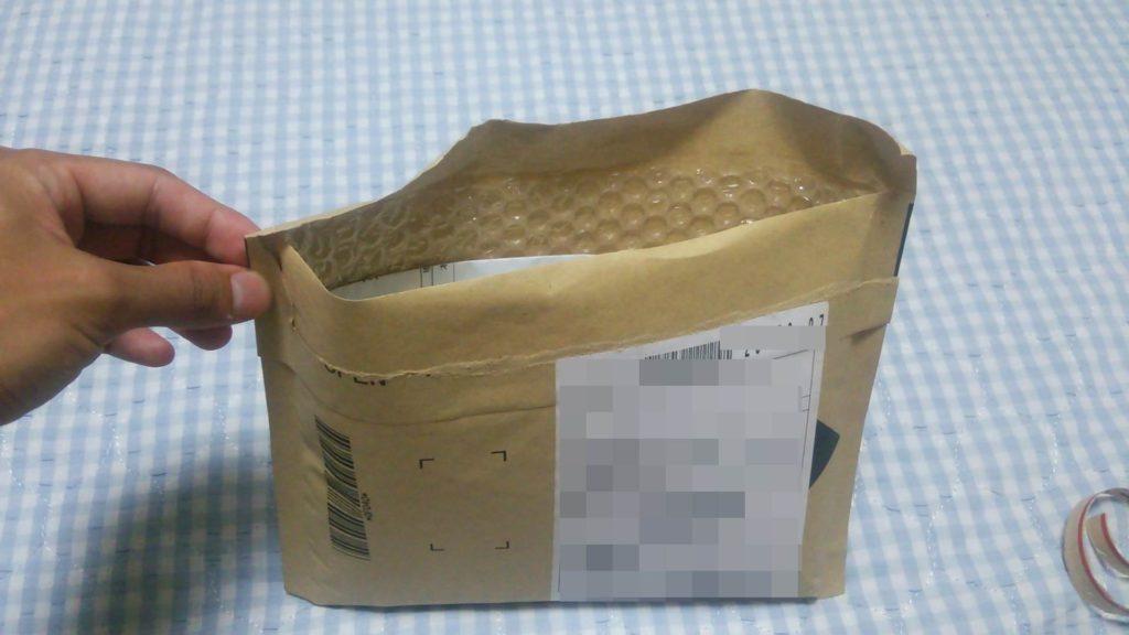 ネット購入時の袋 空けて見た所