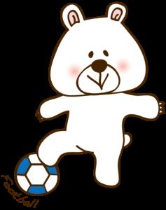 フットサルプレーヤー 熊