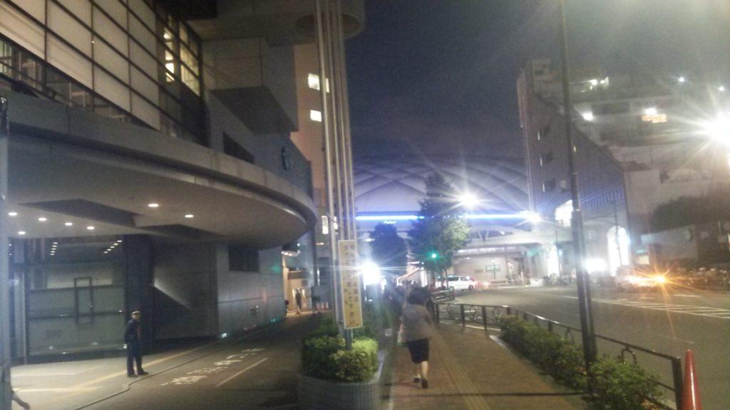 近くに東京ドーム